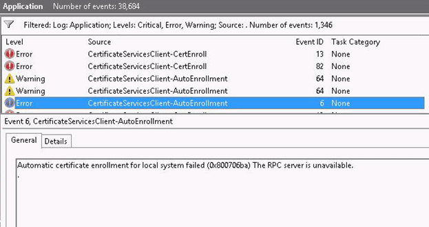 راه حل ارور The RPC server is unavailable 0x800706BA