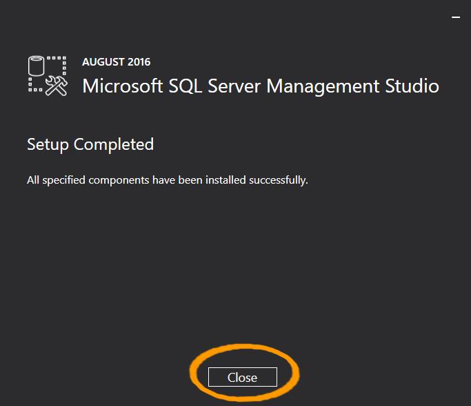 آموزش نصب SQL Server Management System برای SQL Server 2016