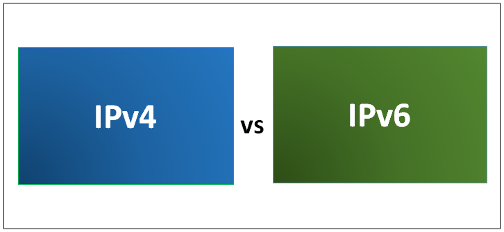 مقایسه ipv4 با ipv6