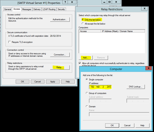 آموزش SMTP Mailserver ویندوز سرور