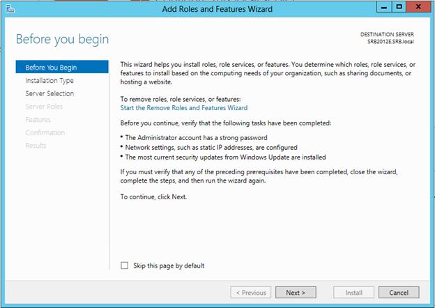 نصب و کانفیگ SMTP داخلی در Windows Server 2012