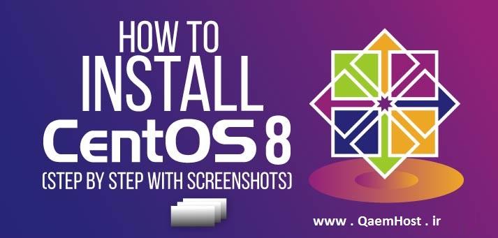نحوه نصب CentOS 8