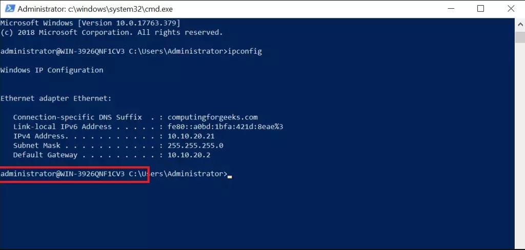 install openssh on windows server 2019