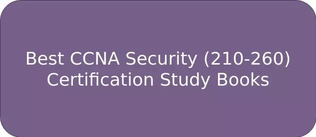 بهترین کتابهای مطالعه مجوز CCNA Security (210-260)
