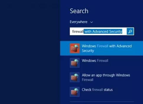نحوه باز کردن پورت در Windows Server Firewall